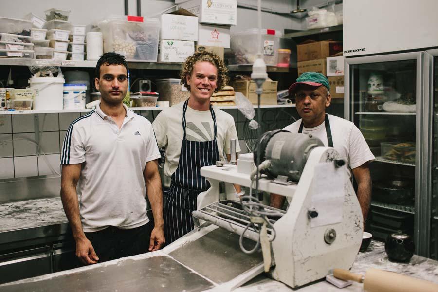 Kitchen staff of Northcote Bakeshop Melbourne