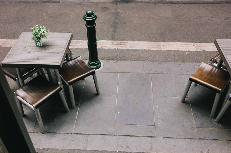 Chairs and tables Silo by Joost