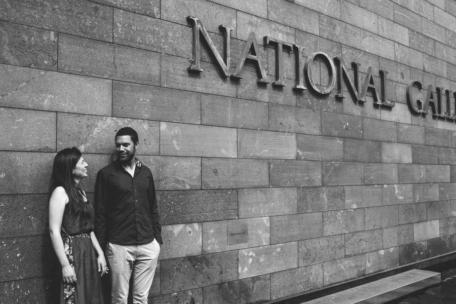 Melbourne pre-wedding national gallery victoria