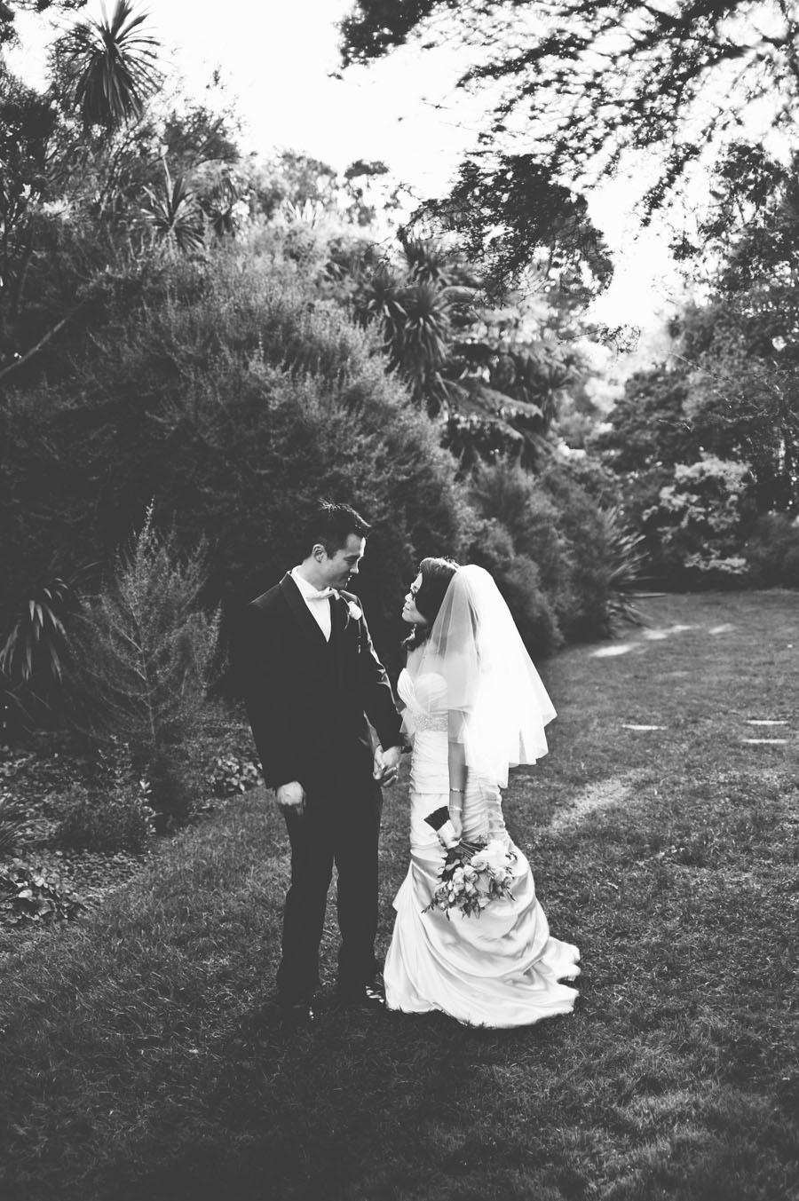 Melbourne botanical garden wedding