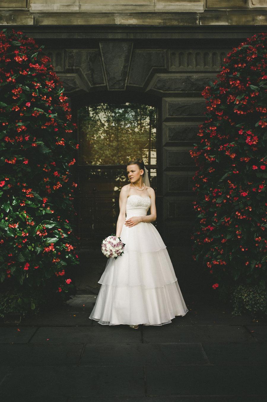 Melbourne Town Hall Wedding Bride
