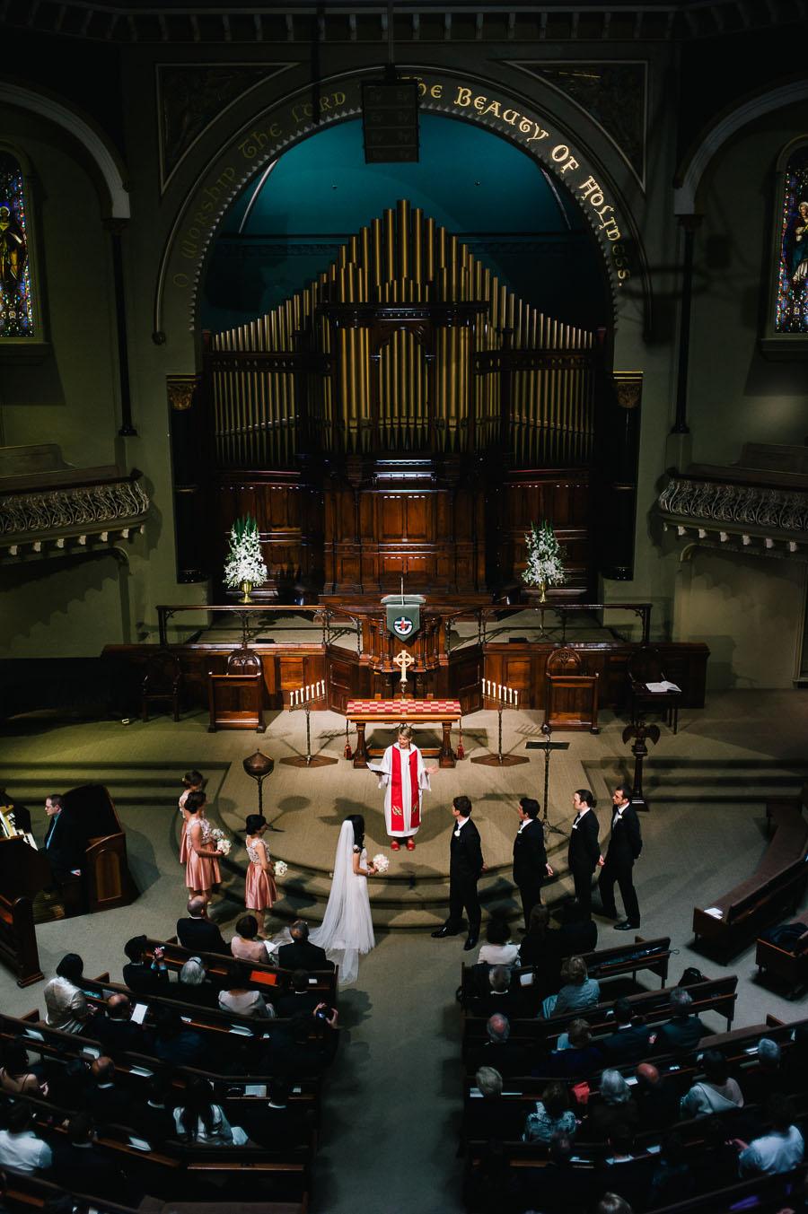 Melbourne Wedding St Michael's Church