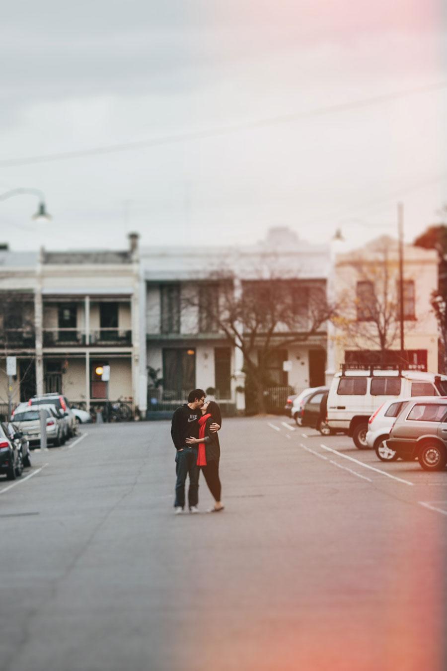 Melbourne Royal Parade Engagement shot