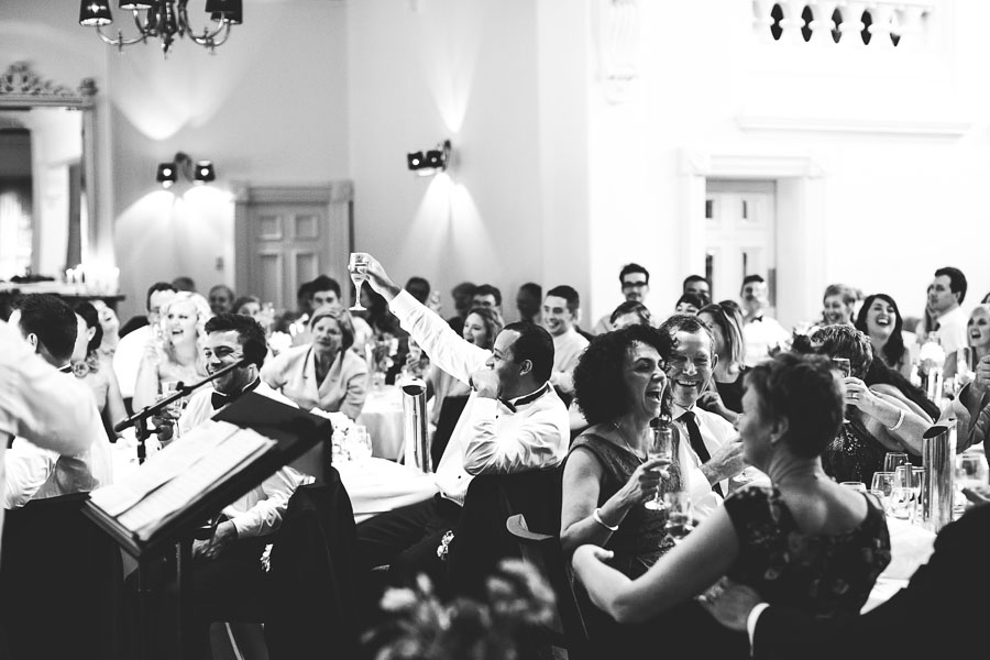 groomsmen cheering at quat quatta wedding