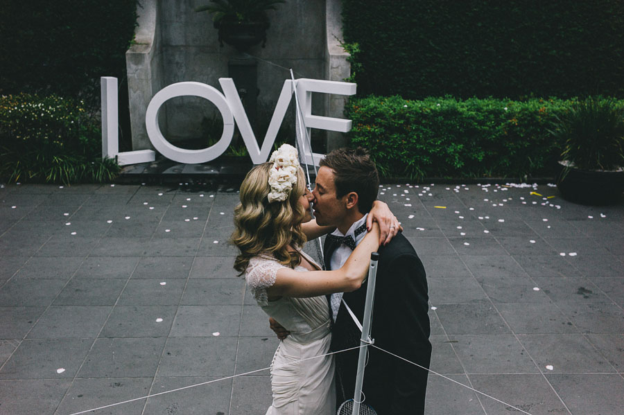 love kiss melbourne wedding photographer