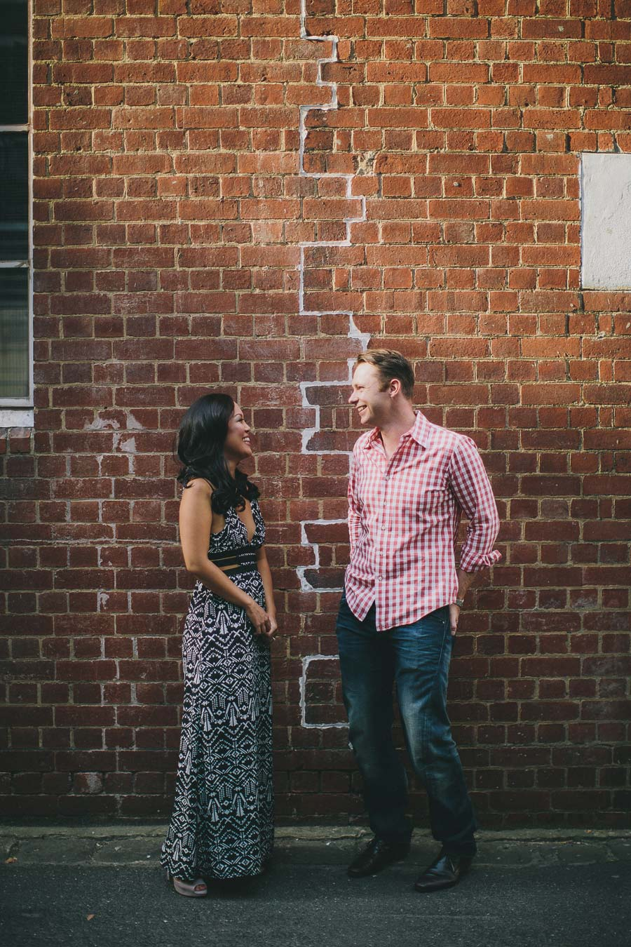 Bouverie place engagement shoot