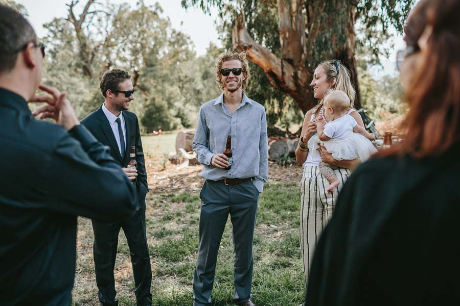 pre wedding drinks farm wedding melbourne