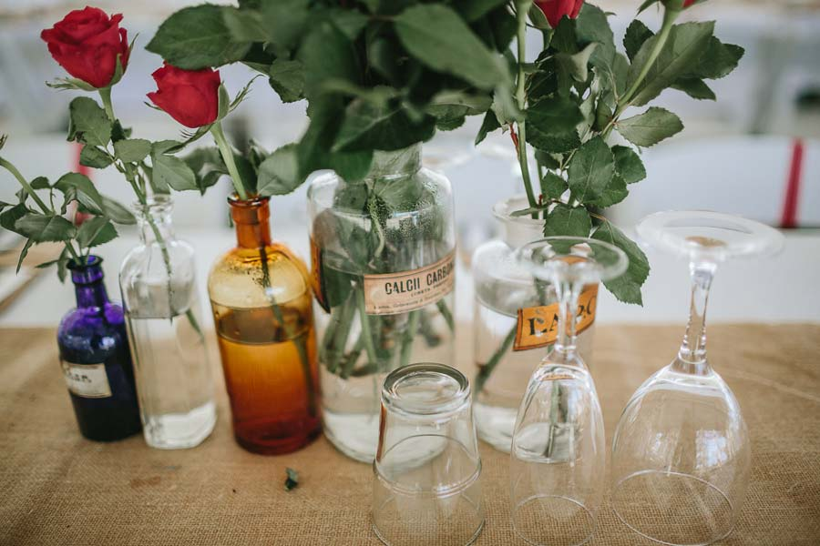 old pharmacy bottle wedding photography