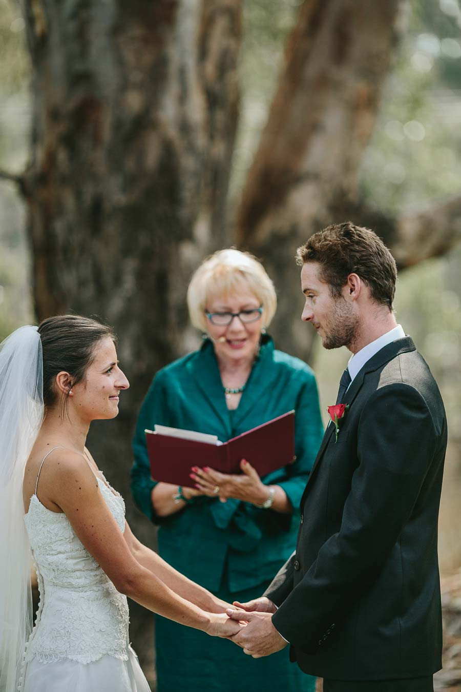 melbourne farm wedding ceremony