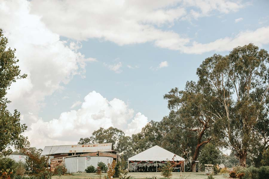 Melbourne farm wedding photographer canopy