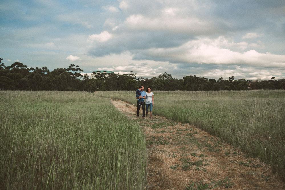Melbourne Parkville family portrait photographer