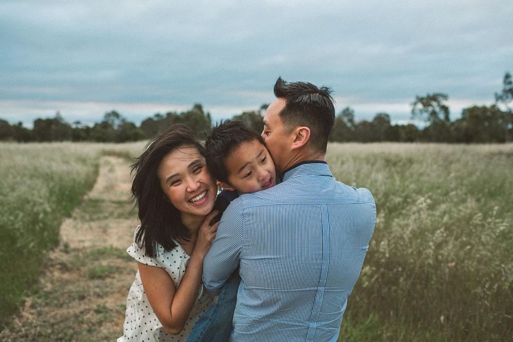 Asian family portrait photographer Melbourne