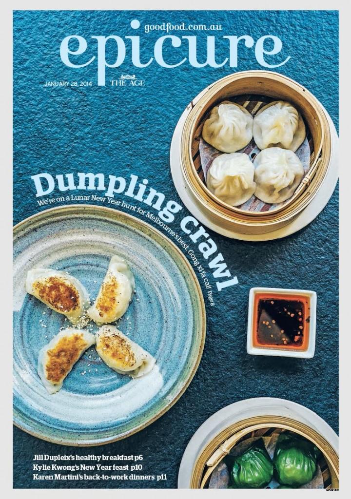 January Epicure cover Dumplings