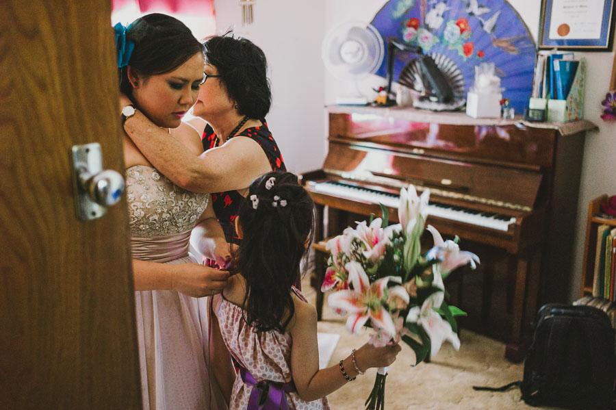PepperTree wedding women getting ready