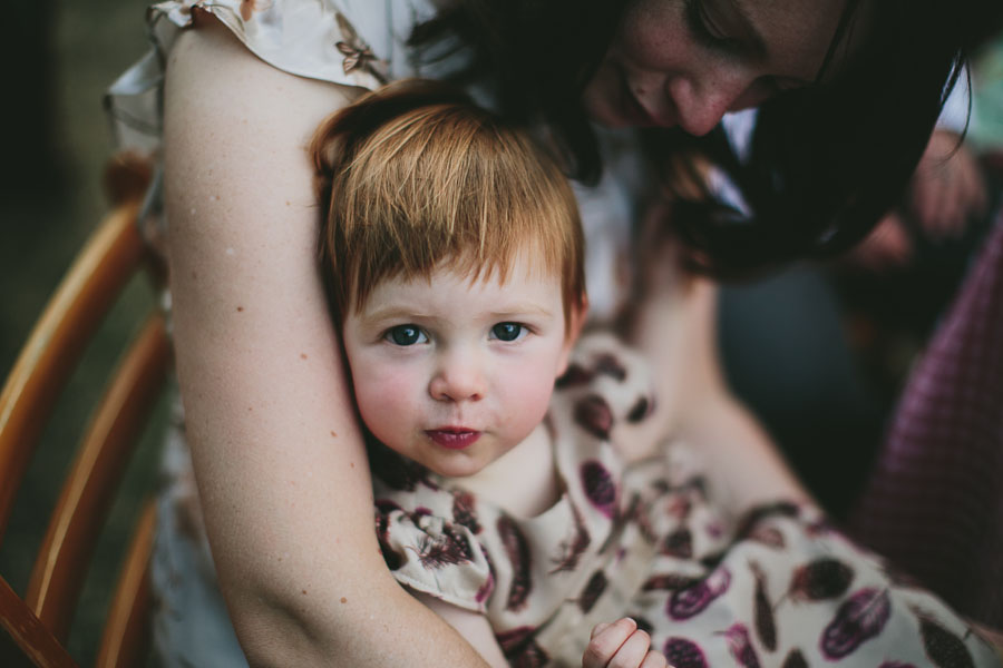 baby at a coburg wedding