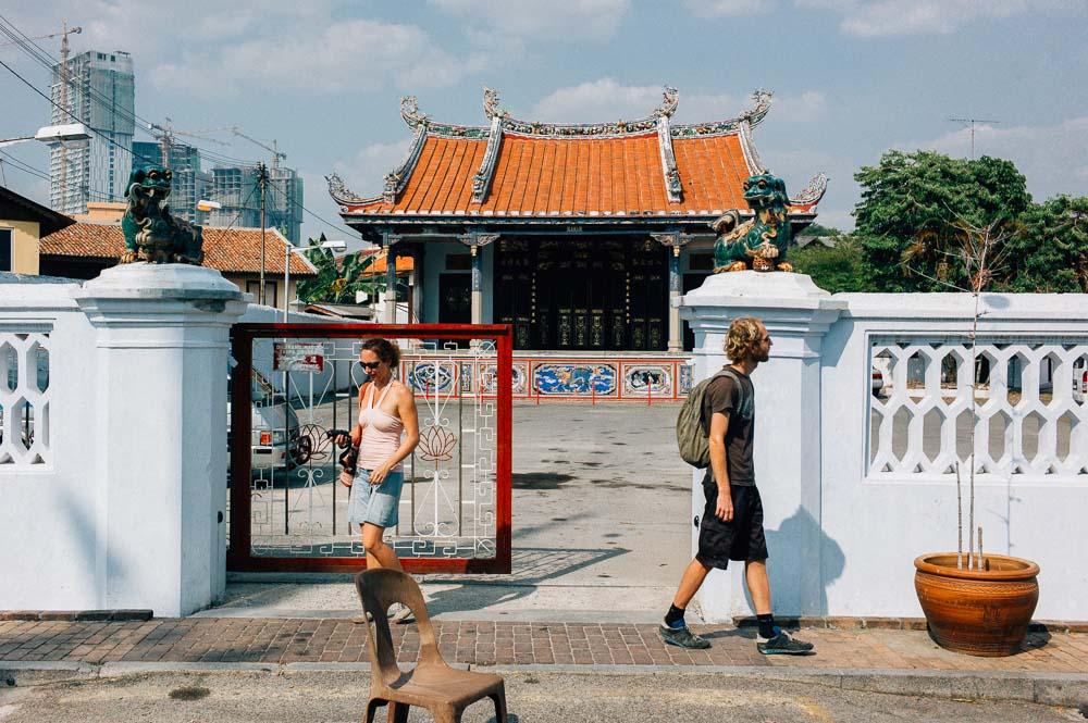 Foreign Tourist Melaka
