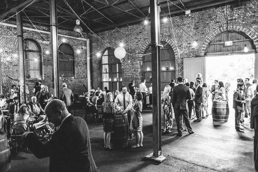 Newcastle Walka Water Works warehouse wedding