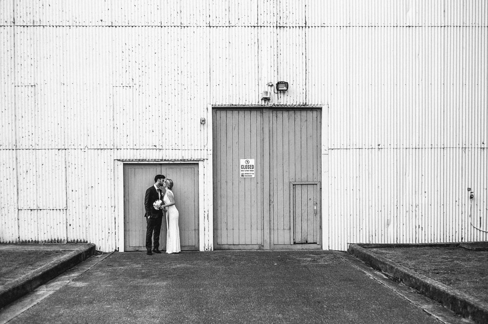 Newcastle Walka Water Works wedding photographer warehouse