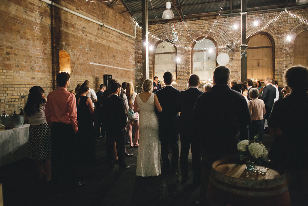 Newcastle Walka Water Works wedding photographer speeches