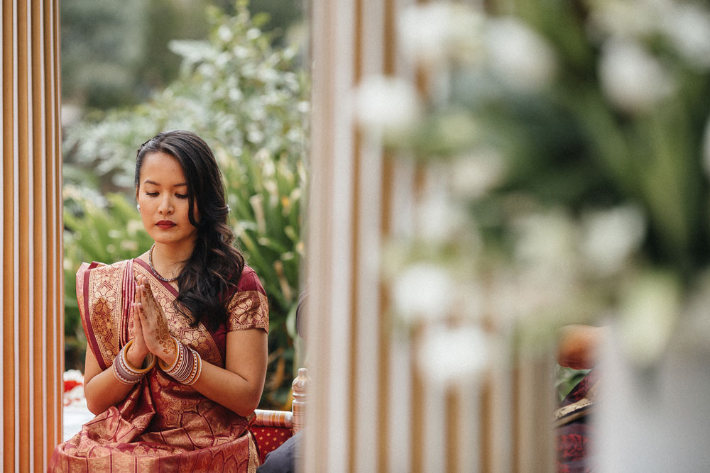 Melbourne Chinese Indian Wedding at Leonda by the Yarra