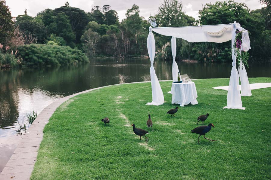 Melbourne royal botanical garden Jewish Wedding ceremony