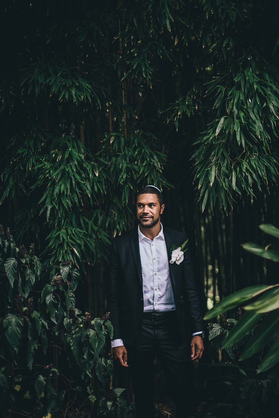 Melbourne royal botanical garden Jewish Wedding groom