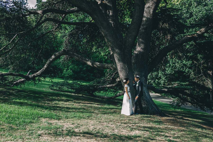 Melbourne royal botanical garden Jewish Wedding