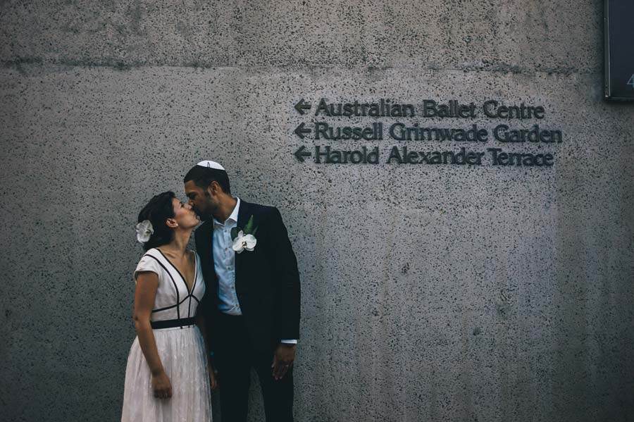 NGV Melbourne Jewish Wedding