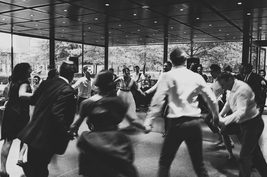 NGV Melbourne Jewish Wedding reception dance