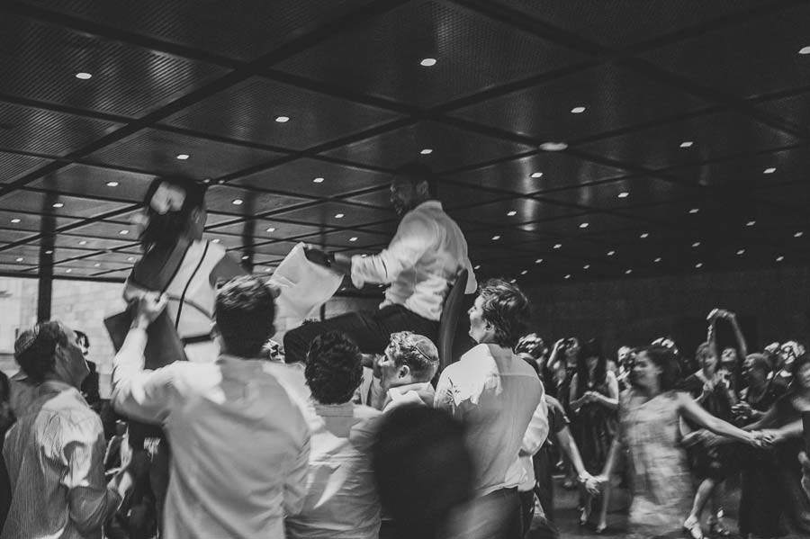 NGV Melbourne Jewish Wedding dance