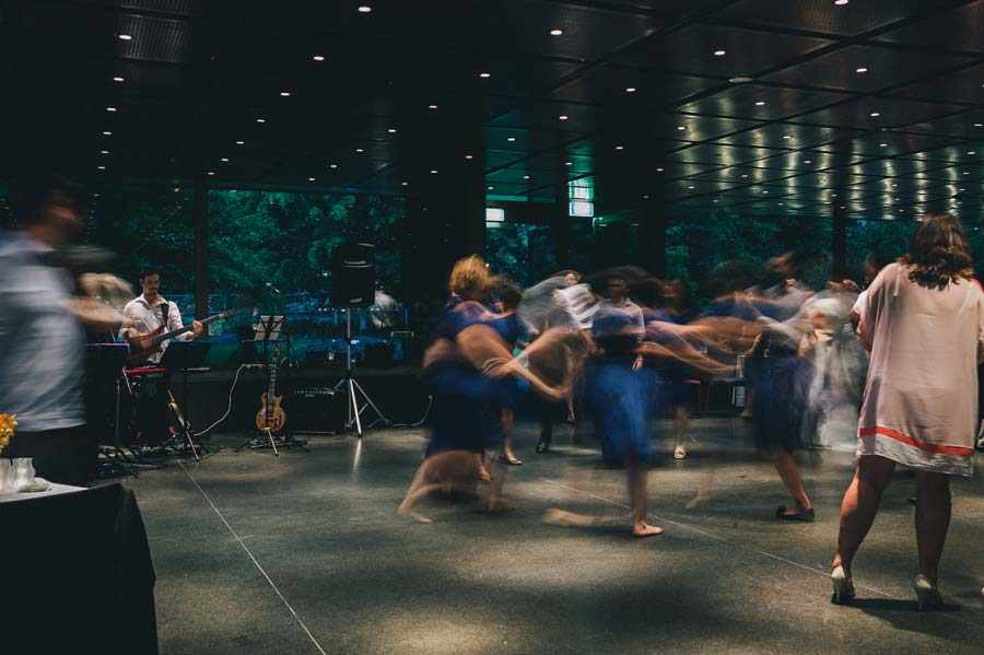 NGV Melbourne Wedding Reception Jewish dance