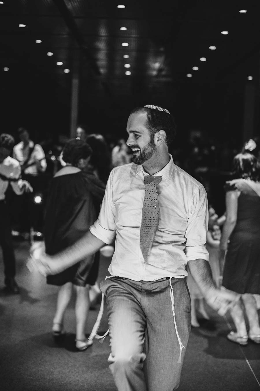 NGV Melbourne Wedding Jewish dancing