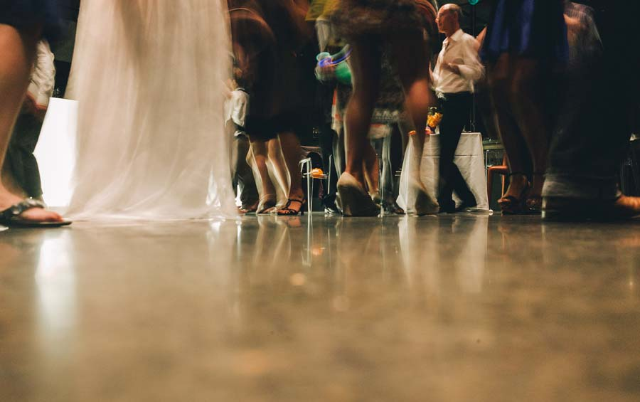NGV Melbourne Wedding reception dance