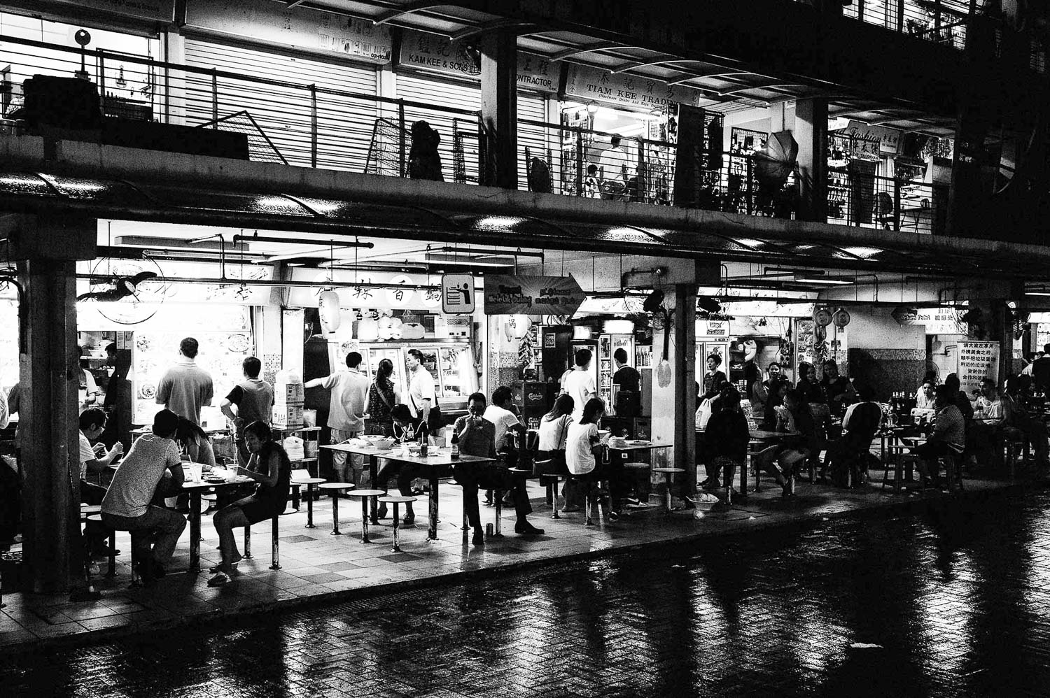 singapore-travel-photography-chinatown-food-court