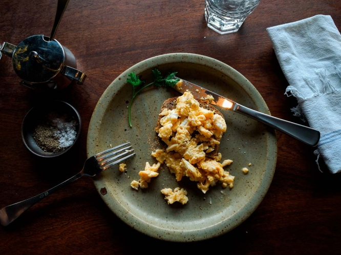 Queenstown-Sherwood-Hotel-Scrambled-Eggs
