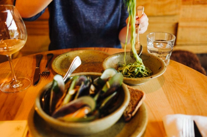Queenstown-sherwood-hotel-dinner-pasta