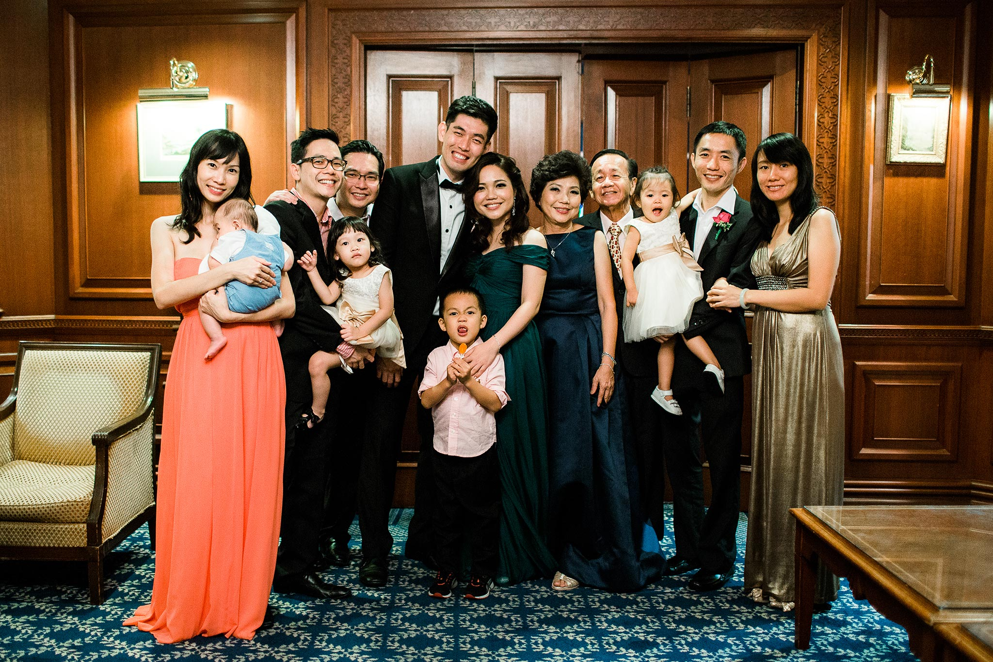 Bankers-Club-Kuala-Lumpur-Wedding-dinner-family-portrait