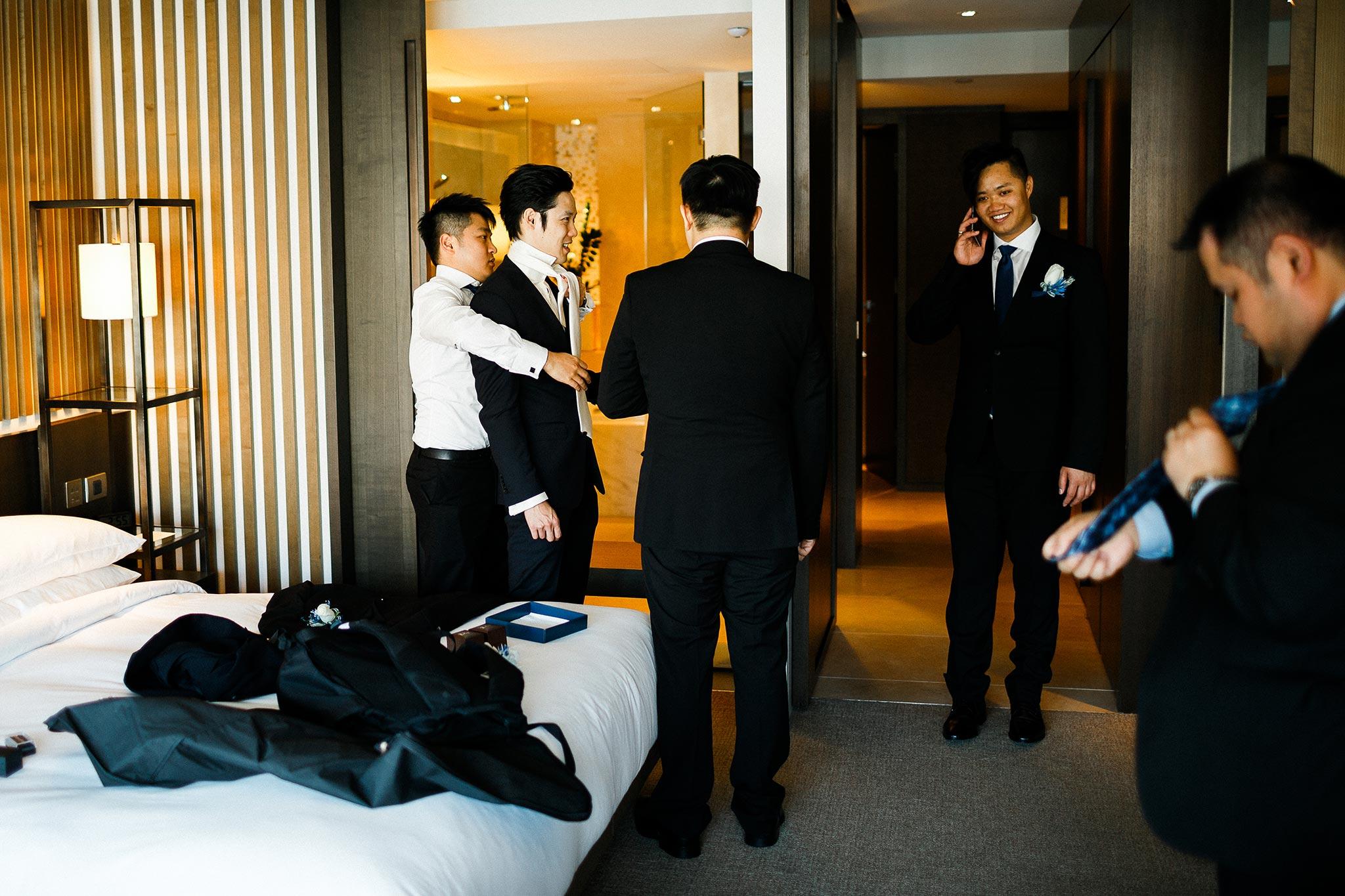 Sydney-The-Rocks-Wedding-Groom-Getting-Ready