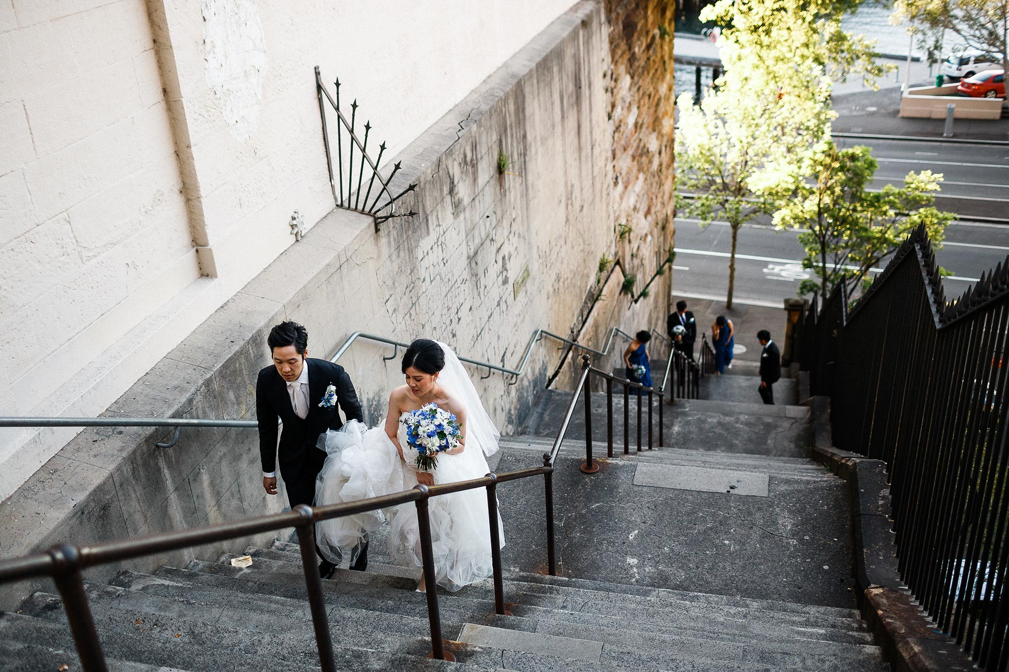 Sydney-The-Rocks-Italian-Village-Wedding-Portraits