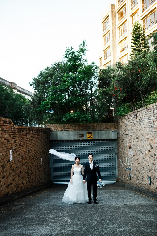 Sydney-The-Rocks-Italian-Village-Wedding-Bride-Groom