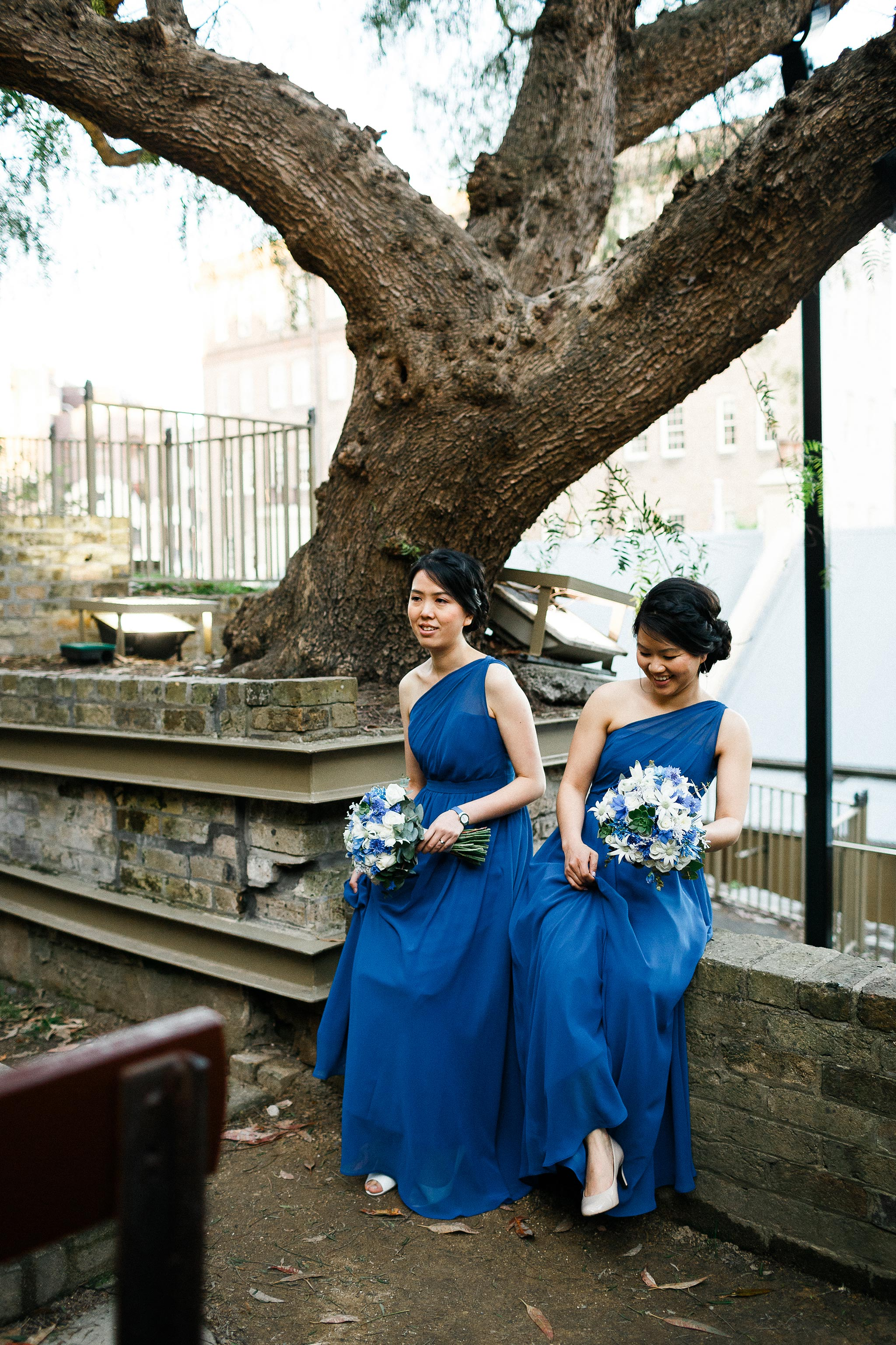 Sydney-The-Rocks-Italian-Village-Wedding-Bridal-Party