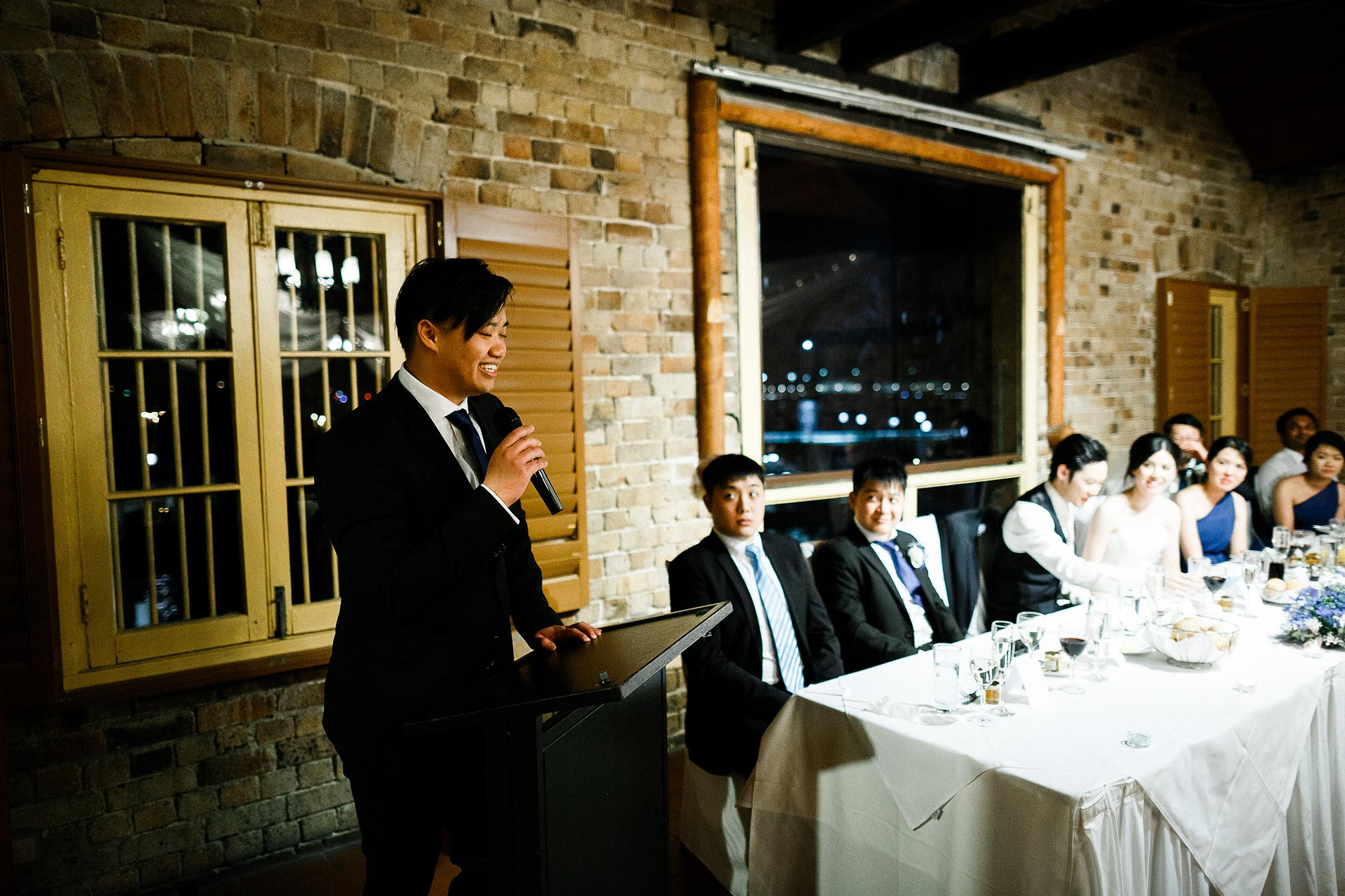 Sydney-The-Rocks-Italian-Village-Wedding-Reception-Speeches