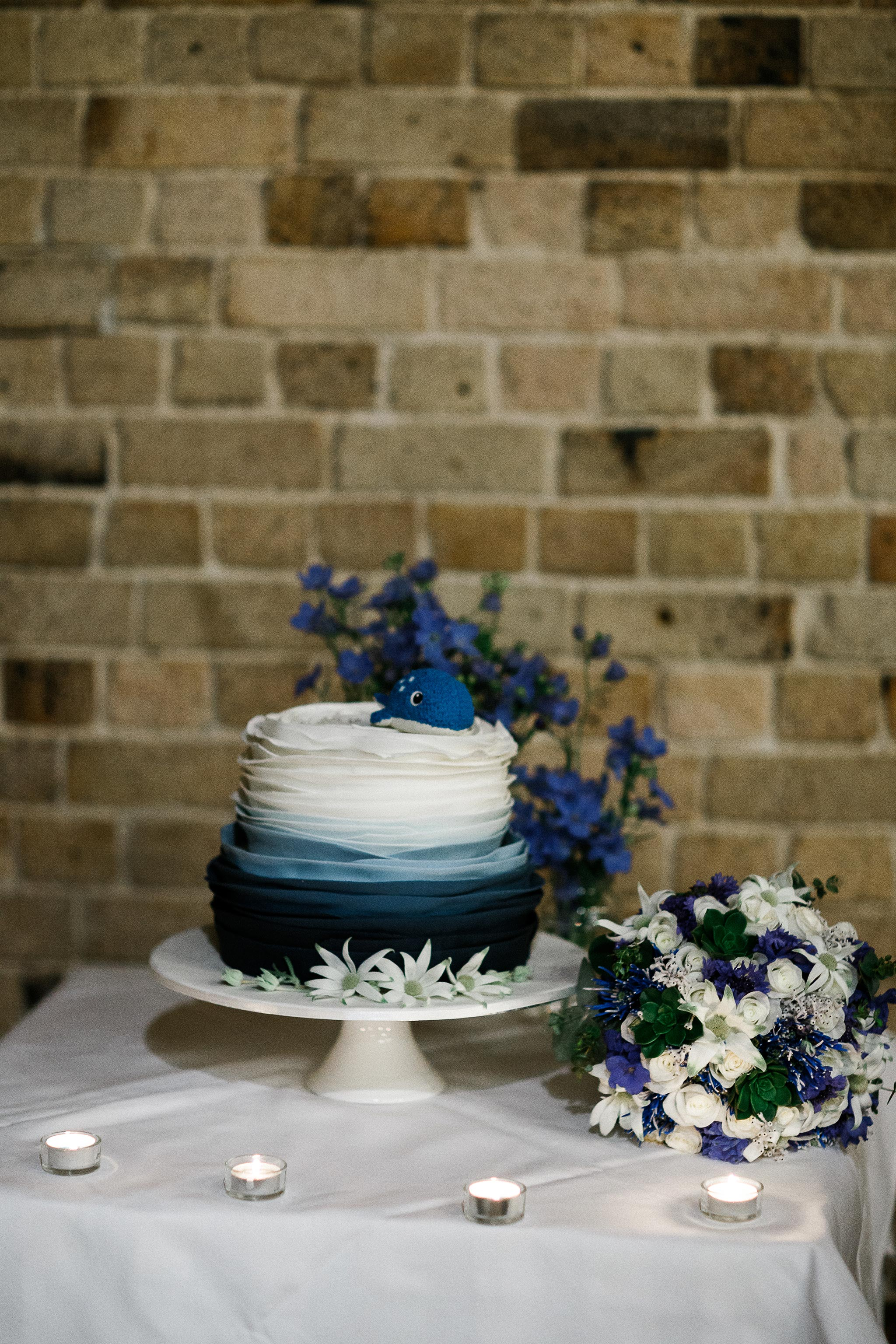Sydney-The-Rocks-Italian-Village-Wedding-Reception-Wedding-Cake