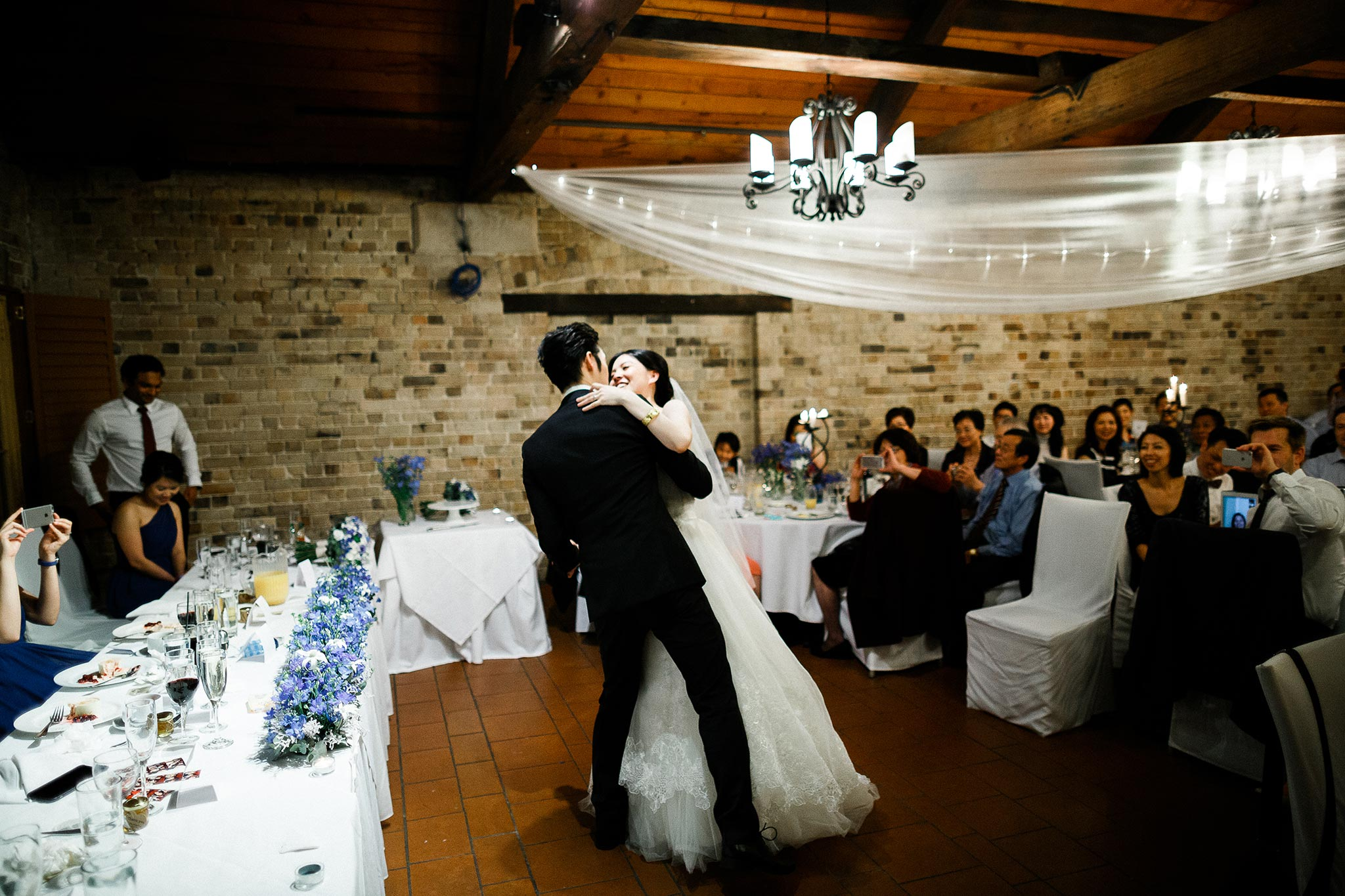 Sydney-The-Rocks-Italian-Village-Wedding-Reception-First-Dance