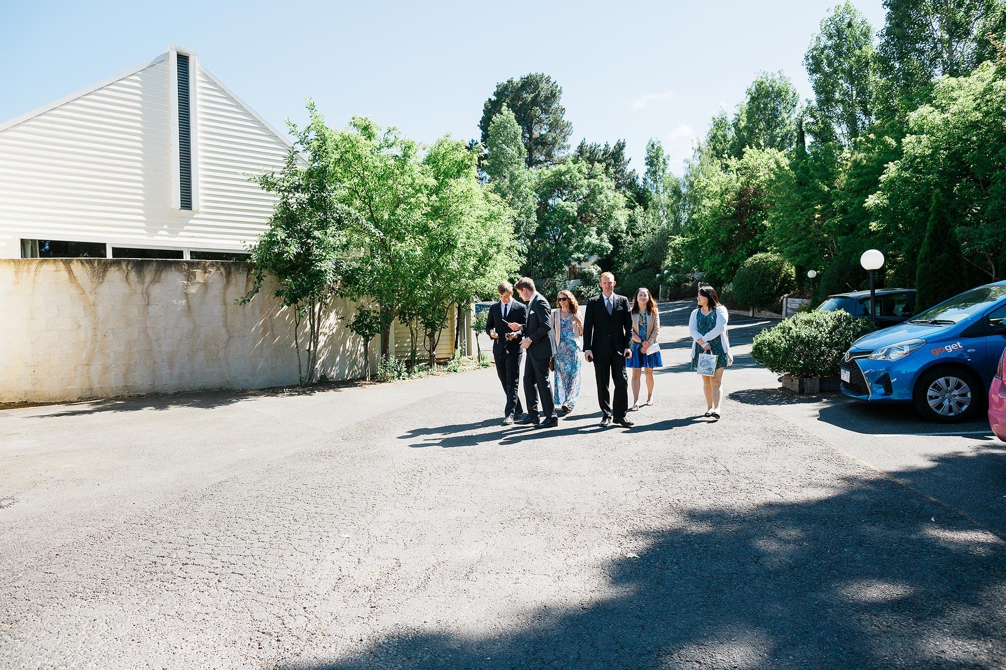 Daylesford-Lake-House-Wedding-Photography-groom-arrival