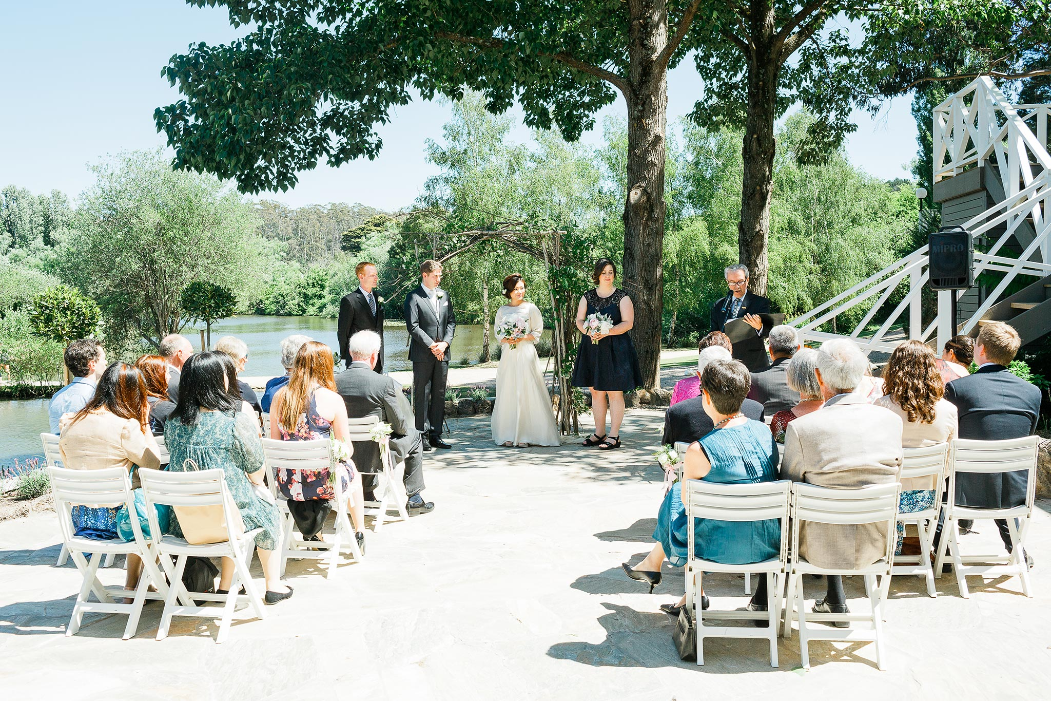 Daylesford-Lake-House-Wedding-Photographer-ceremony