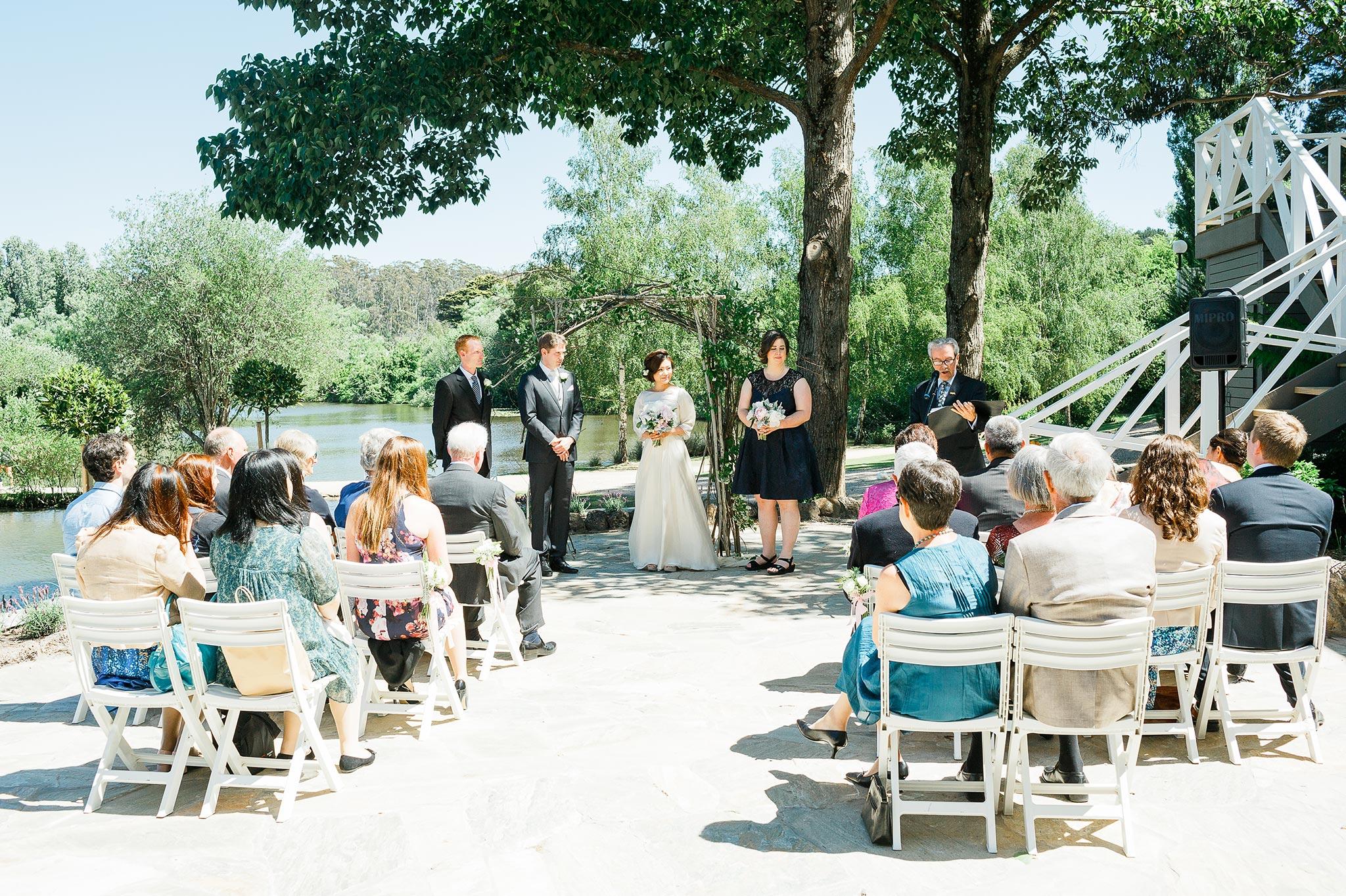 Daylesford-Lake-House-Wedding-Photographer-ceremony