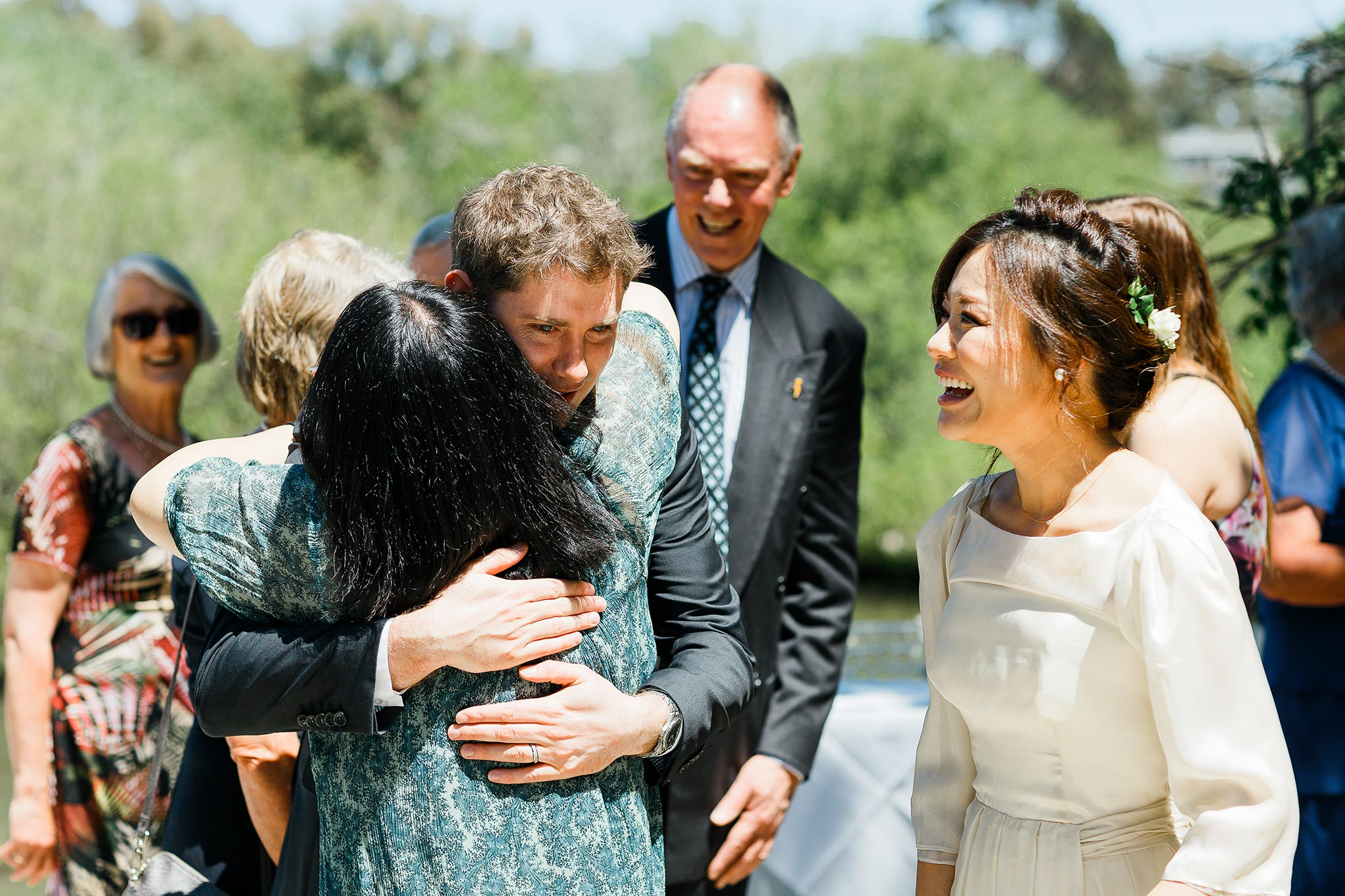 Daylesford-Lake-House-Wedding-Photography-congratulations