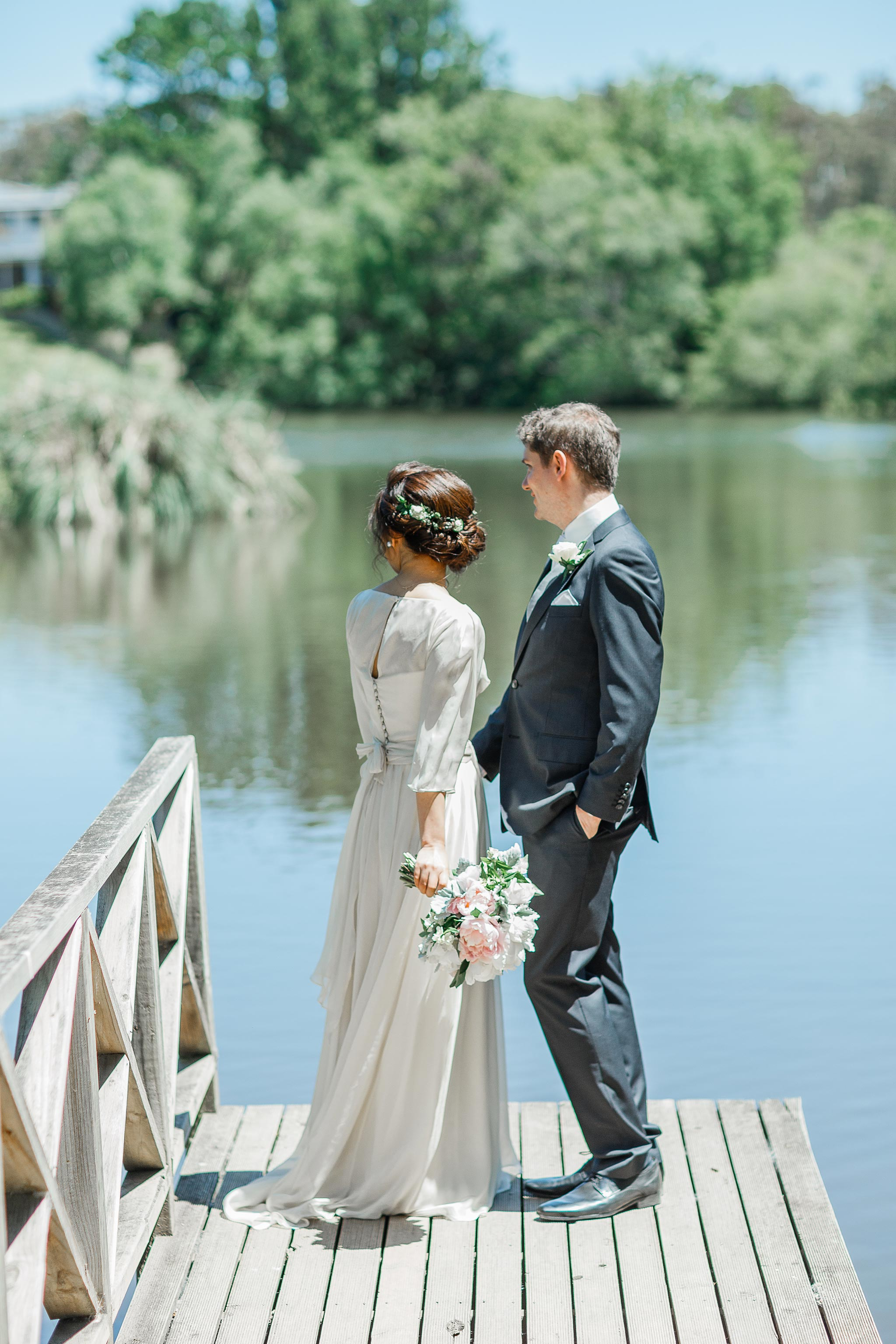 Daylesford-Lake-House-Wedding-Photography-lake-portraits