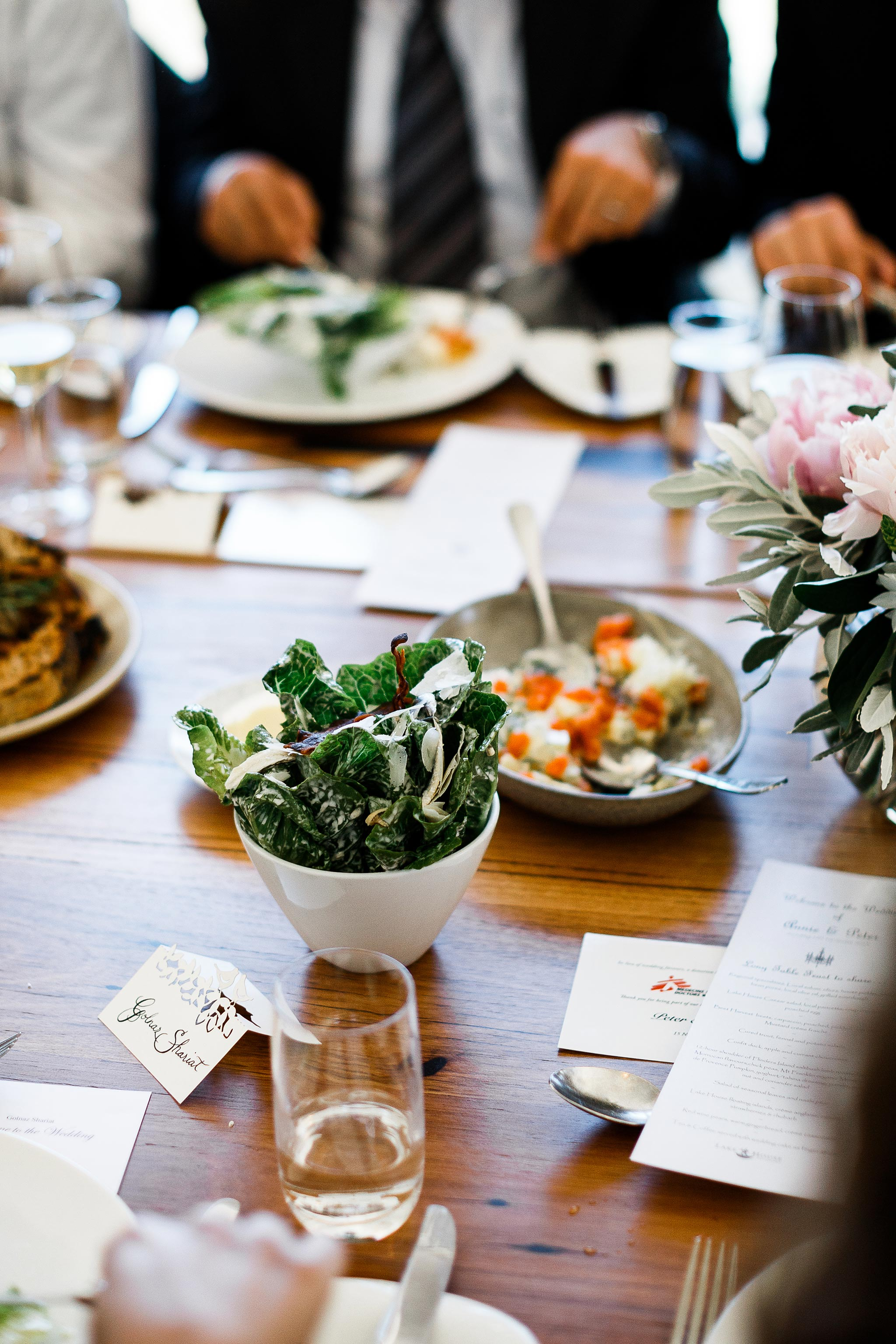 Daylesford-Lake-House-Wedding-Photography-salad